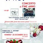 Concerto di Fine Anno Parrocchia S.Antonio
