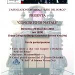 Locandina Concerto di Natale  2010 Chiesa Collegiata 26-12   Finale copia
