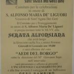 Manifesto S.Agata dei Goti