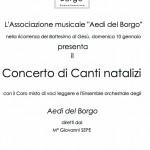 locandina concerto Ottaviano 2010